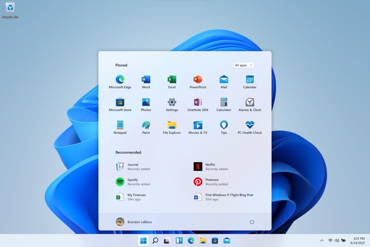 Windows11-startmenu